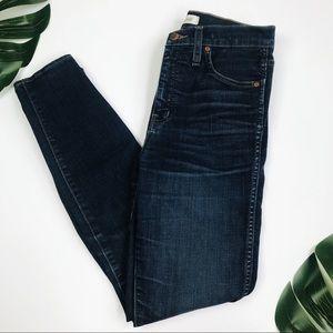 """Madewell 10"""" High Riser Skinny Skinny Jean"""